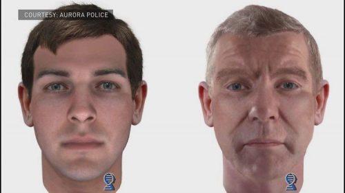 Bennett murder suspect DNA composite drawing